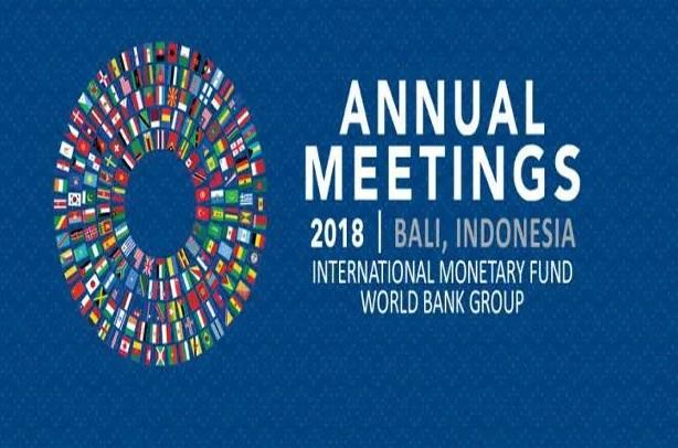 annual meeting 2018 IMF dan Bank Dunia