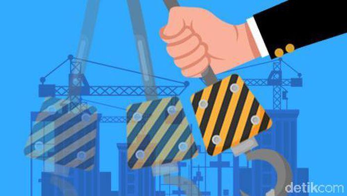 ilustrasi pembangunan infrastruktur indonesia